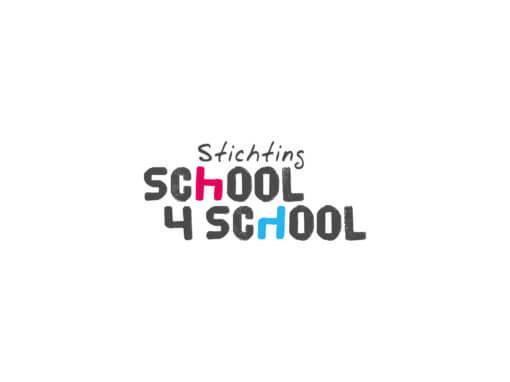 Logo Stichting School voor School