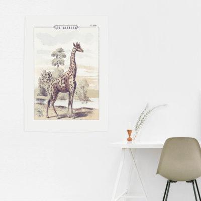 Canvasdoek-EllesAnne_giraffe